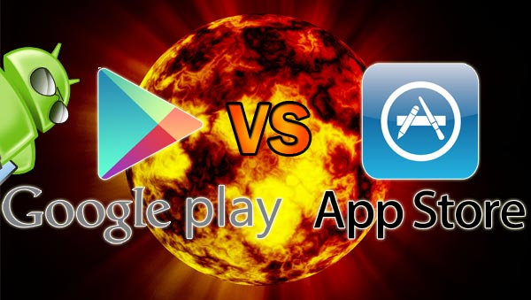 Google-Play-Store-Vs-Apple-